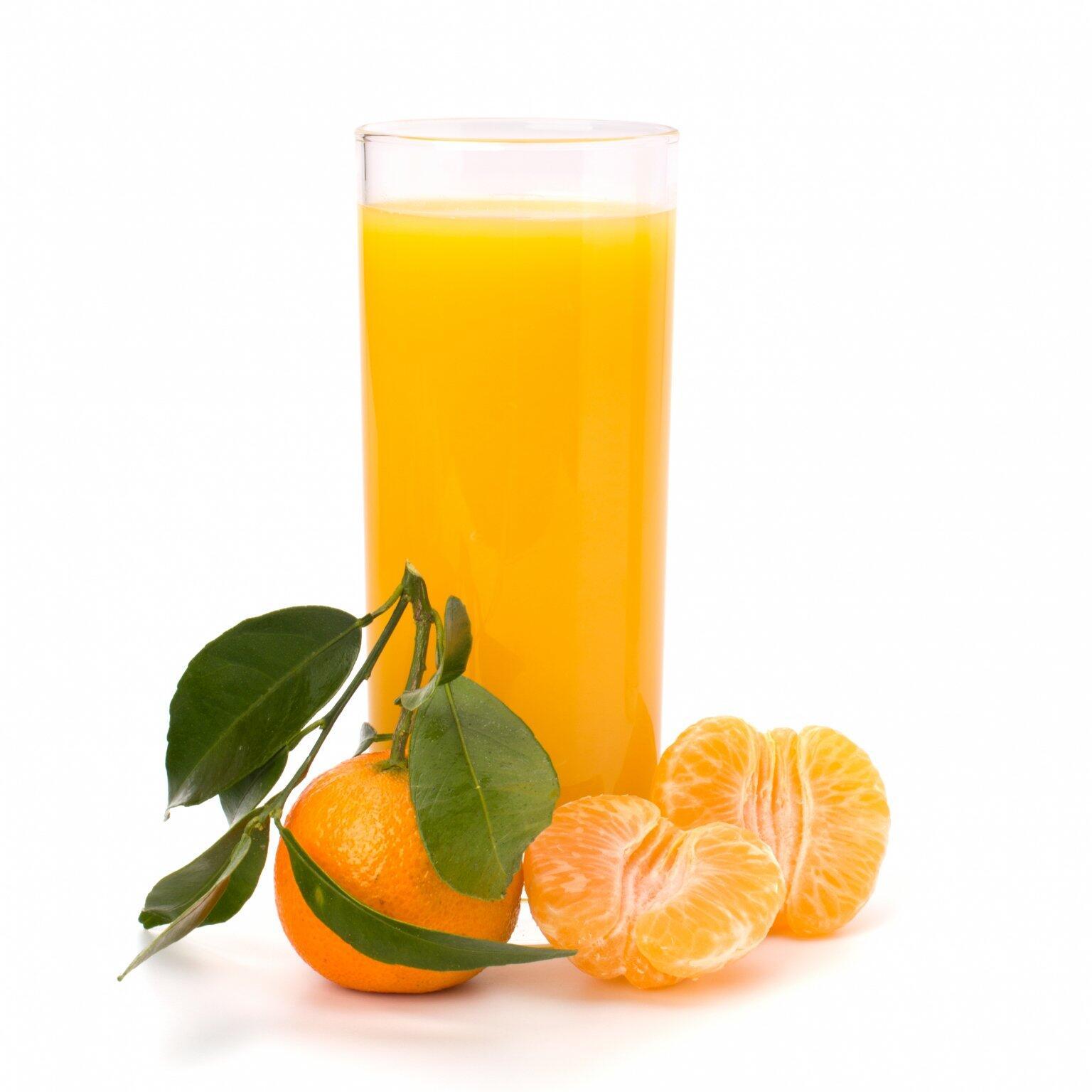 mandarinková šťáva
